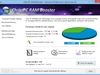 Chris-PC RAM Booster 2.80 Full + Crack