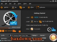 Bigasoft WTV Converter 5.1.3.6446 Full + Serial Key