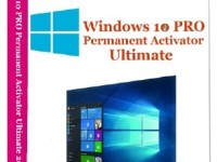 Windows 10 Pro Permanent Activator Ultimate 2017 1.8 Full + Serial Key