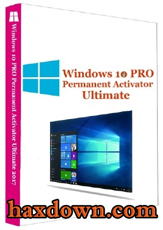 Windows 10 Pro Permanent Activator Ultimate 2017 1.8 Full ...