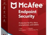 McAfee Endpoint Security 10.6.1.1386.8 Full + Serial Key