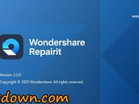 Wondershare Repairit 2.0.5.7 Full + Crack