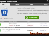 Express Uninstaller 3.0 Full + Serial Key