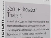 Iridium Browser 51.1.0.0 Full + Crack