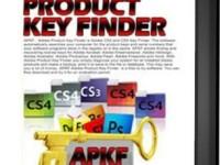 APKF Adobe Product Key Finder 2.5.1.0 Full + Crack