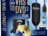 Roxio Easy VHS to DVD 3 Plus 3.0.1.36 Full + Patch