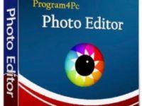Program4Pc Photo Editor 7.3 Full + Crack