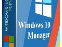 Windows 10 Manager 3.1.5 Full + Keygen
