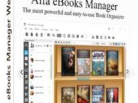 Alfa eBooks Manager Pro / Web 8.3.1.1 Full + Crack