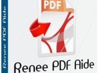 Renee PDF Aide 2020.01.01.93 Full + Serial Key