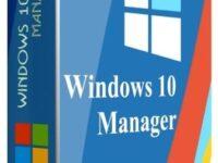 Windows 10 Manager 3.3.1 Full + Keygen