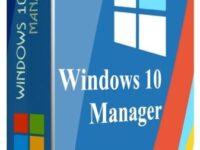 Windows 10 Manager 3.3.7 Full + Keygen