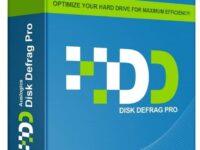 Auslogics Disk Defrag Professional 10.0 Full + Crack