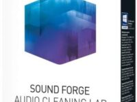 MAGIX SOUND FORGE Audio Cleaning Lab 3 25.0.0.43 Full + Crack