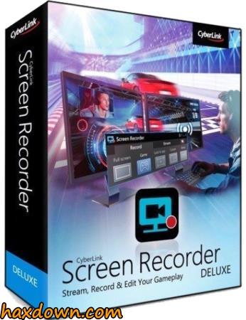CyberLink Screen Recorder Deluxe