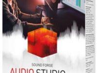 MAGIX SOUND FORGE Audio Studio 15.0 Build 40 Full + Crack