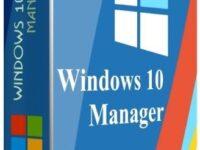 Yamicsoft Windows 10 Manager 3.4.0 Full + Keygen