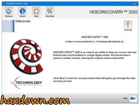 LC Technology VIDEORECOVERY