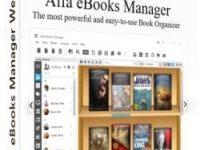 Alfa eBooks Manager Pro / Web 8.4.71.1 Full + Crack