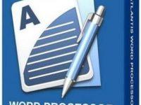 Atlantis Word Processor 4.1.1.1 Full + Keygen