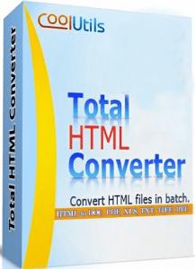 Coolutils Total HTML Converter