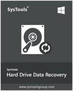 SysTools Hard Drive Data Recovery
